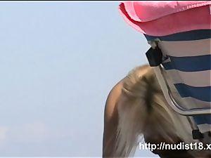 handsome first-timer hidden beach web cam vid a spy cam