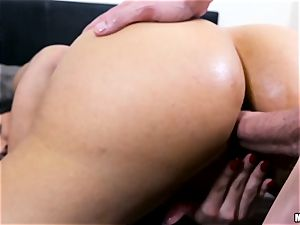 super-fucking-hot mummy Mercedes Carrera gets a assfuck invasion