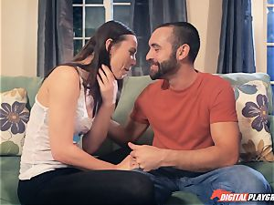 Aidra Fox fucking her bf in the house