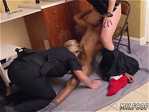stellar mexican milf and vintage youthfull dark-hued masculine squatting in home gets our mummy officers