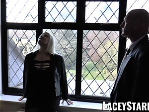 LACEYSTARR - Mature English stunner fucked and facialized