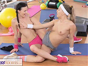FitnessRooms two g/g Gym playmates exercise