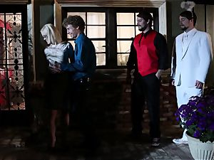 Surprise mistress Ash Hollywood gets her boy