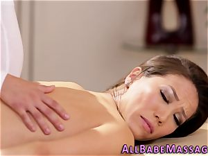 big-chested masseuse fingerblasted