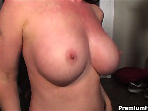 Mae Victoria gets her juggs porked