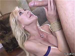 thick manmeat admirer fucking milf with huge udders