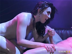 Mandy Muse caboose plumbed deep by Mick Blue