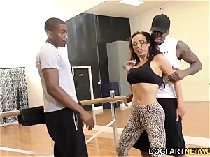 Nikki Benz loves assfuck with big black cock - cuckold Sessions