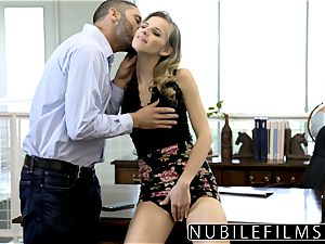 NubileFilms - Office slut humped Till She sprays