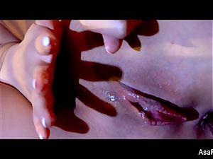 incredible Asa Akira takes a immense ebony schlong