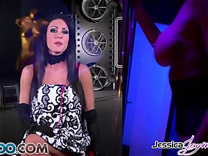 JessicaJaymes - Jessica takes two dicks like a champion