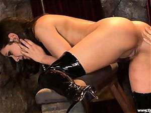 Alluring Charley haunt gets plaything banged by Lisa Ann