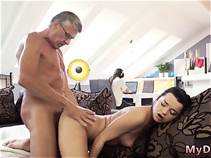 elderly hefty furry and she calls me father compilation What would you prefer - computer or your