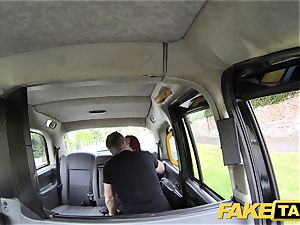 fake taxi fabulous sandy-haired with fat bosoms