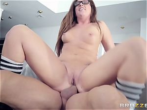 Maddy OReilly plumbed hard by Johnnys stiff hard-on