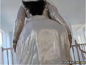 crazy Nadia Ali has splendid time with dark-hued boner