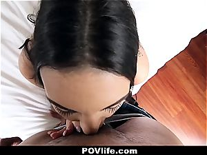Rachael's high-speed point of view porn
