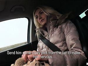 Victoria Puppy gets a strangers manstick deep inside her
