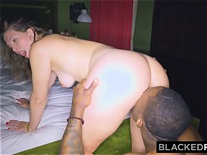 BLACKEDRAW girlfriend cheats with the fattest pink cigar she's EVER seen