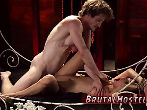 Real fledgling bondage & discipline and fellatio machine skimpy lil' Jade Jantzen, she just wished to have a