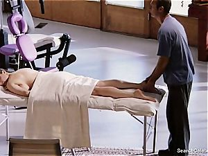 spectacular Mimi Rogers gets her whole bod rubbed
