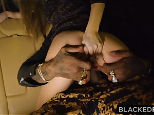 BLACKEDRAW supah Model wiggles With awakening For big black cock