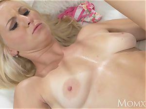 mom Mature blonde beautys cougar vagina nailed