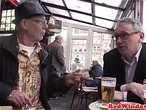 Pussyeaten amsterdam escort loves tourist