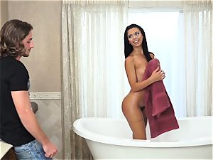 dirty Rotten Cheaters Sn two red-hot Bathtime with Gina Valentina