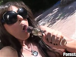 Britney Stevens Is One steaming faux-cock pulverizing porn industry star