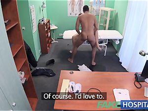 FakeHospital insane nurse helps patient ejaculate