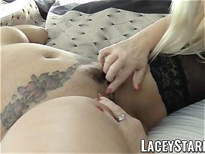 LACEYSTARR - biz GILF tongue studies youthful vagina