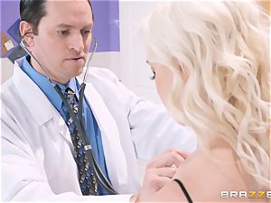 Preston Parker romps her scorching doctor