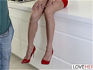 LoveHerFeet - squirting towheaded friend With Benefits