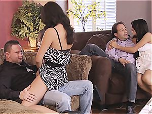 group fuck-fest and Hangman with super-cute couples 1