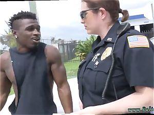 wife money-shot cooch black suspect taken on a harsh rail