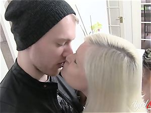 AgedLovE huge-boobed Lacey Starr xxx and deep throat