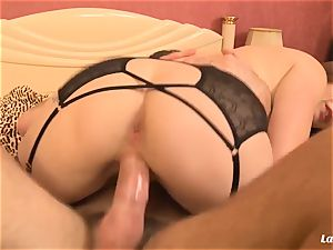 LA newcomer - huge-boobed French fledgling likes xxx plow