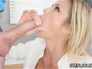 lush mummy orgasm My peeping playfellow s step son