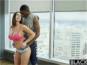 BLACKED fitness babe Kendra lust loves meaty black weenie