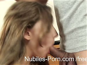 Nubiles porn - rock hard penetrate makes Czech inexperienced bust