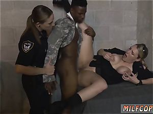 ebony female tape ball-gagged and bathing suit blow-job first time fake Soldier Gets Used as a boink fucktoy