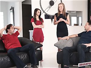 April Brookes and Farrah Valentine swap punishment