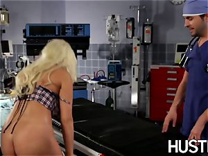gorgeous Britney Amber penetrated during doctors exam