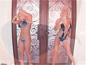big-boobed blondes Shyla