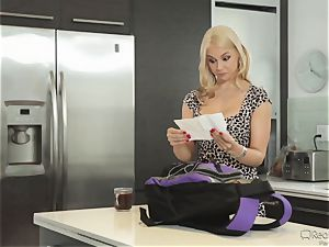 hungry wifey Sarah Vandella gets her appetite suppressed by bbc