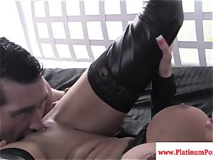 Nikita Von James pummels and fellates lollipop
