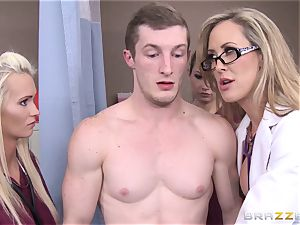Rock firm patient gets drilled by medic Brandi enjoy