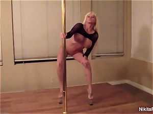 Nikita gives you a personal softcore dance & a pov dt