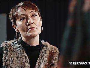 Private.com - Ella Hughes, jizm in Her unshaved cooch